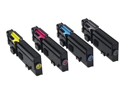 Dell C2660DN/C2665DNF Black Toner 3k Yield