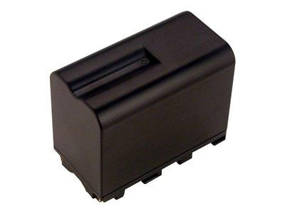 2-Power Camcorder Battery 7.2v 6600mAh