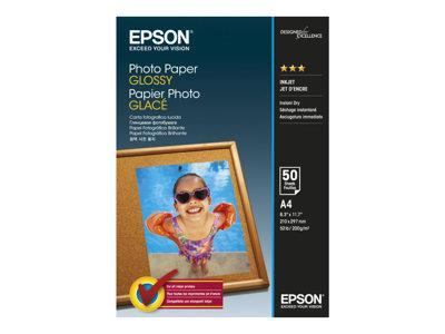 Epson A4 Glossy Photo Paper 50 Sheets