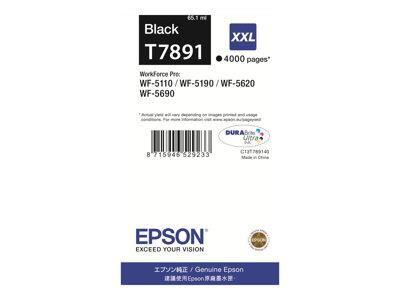 Epson T7891 XXL Black Print Cartridge