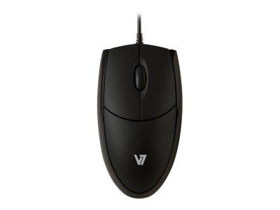 V7 Optical Mouse USB 3 button wheel mouse