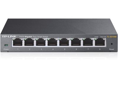 TP LINK TL-SG108E  8-Port Gigabit Easy Smart Switch