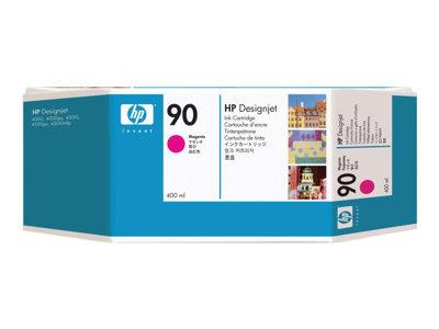 HP 90 3-pack 400-ml Magenta Ink Cartridges