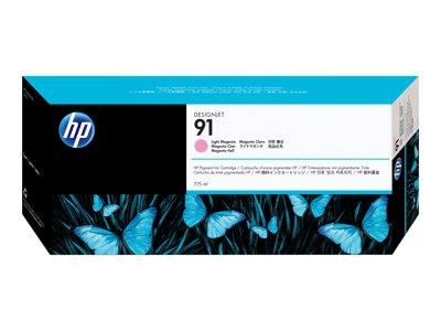 HP 91 775-ml Pigment Light Magenta Ink Cartridge