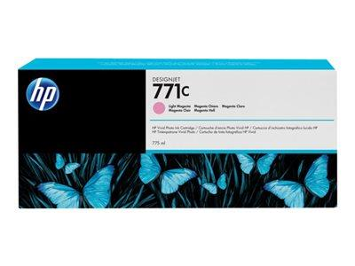 HP 771C 775-ml Light Magenta Designjet Ink Cartridge