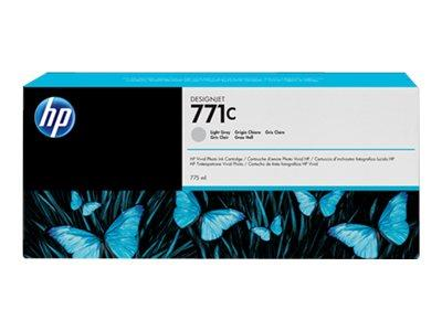 HP 771C 775-ml Light Gray Designjet Ink Cartridge