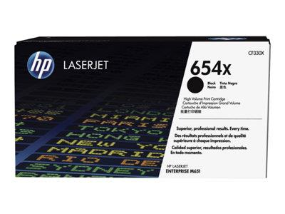 HP 654X High Yield Black Original LaserJet Toner Cartridge