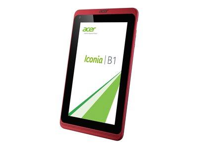 "Acer Iconia B1-720 Dual-core A7 Cortex MediaTek MT8111T 1GB 16GB 7"" Android 4.2 - Red"