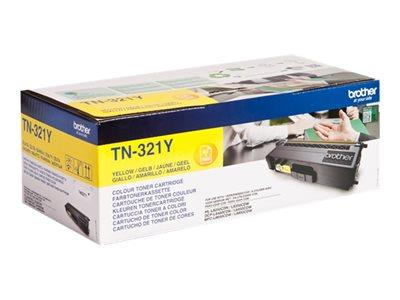 Brother TN-321Y Yellow Toner Cartridge 1.5k Yield
