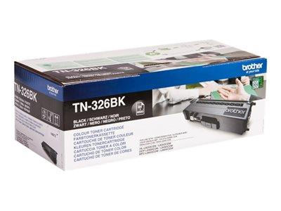 Brother TN-326BK Black Toner Cartridge 4k Yield