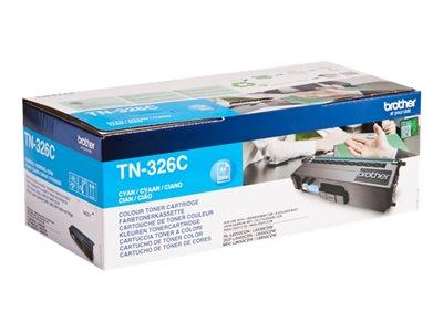 Brother TN-326C Cyan Toner Cartridge 3.5k Yield