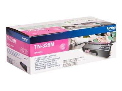 Brother TN-326M Magenta Toner Cartridge 3.5k Yield