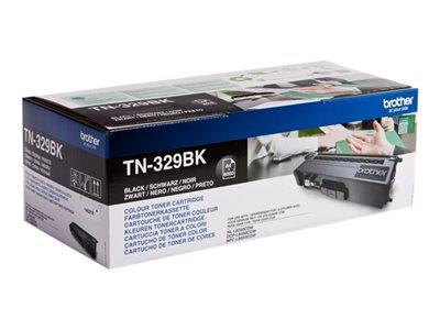 Brother TN-329BK Black Toner Cartridge 6k Yield
