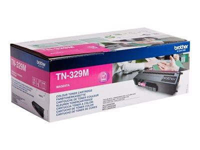 Brother TN-329M Magenta Toner Cartridge 6k Yield