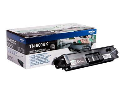 Brother TN-900BK Black Toner Cartridge 6k Yield
