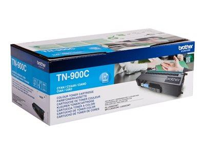 Brother TN-900C Cyan Toner Cartridge 6k Yield