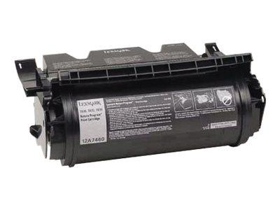 Lexmark T63X Return Program Black Toner Cartridge