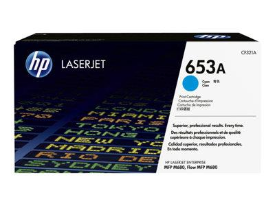 HP 653A Cyan Original Toner Cartridge