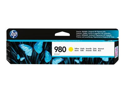 HP 980 Yellow Original Ink Cartridge