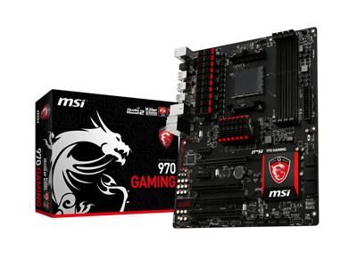 MSI 970 GAMING AMD AM3+ 970+SB950 DDR3 USB 3.0 ATX