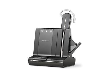 Poly Plantronics Savi 745-M Triple Connectivity Wireless Headset - MS Lync - with Unlimited Talktime