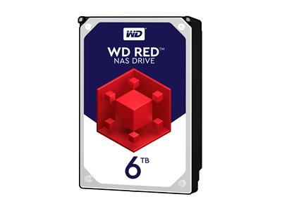WD 6TB Red NAS Desktop  Hard Disk Drive - Intellipower SATA 6 Gb/s 64MB Cache 3.5 Inch - WD60EFRX