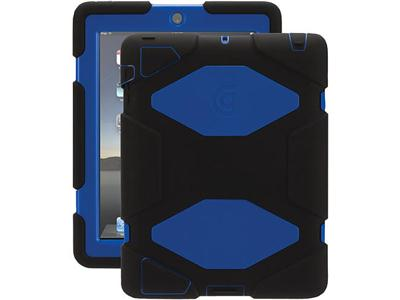 Griffin Griffin Survivor Case for iPad 2/3/4 - Blue/Black