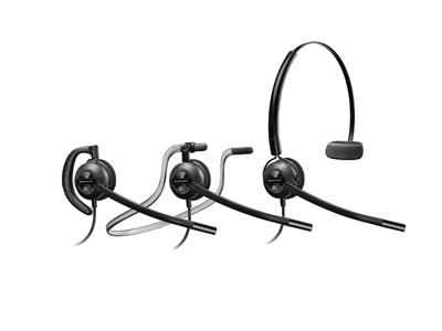 Poly Plantronics EncorePro HW540 Convertible Noise Cancelling Corded Headset