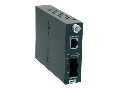 TRENDnet 100Base-TX to 100Base-FX Multi Mode ST Fiber Converter (2KM)