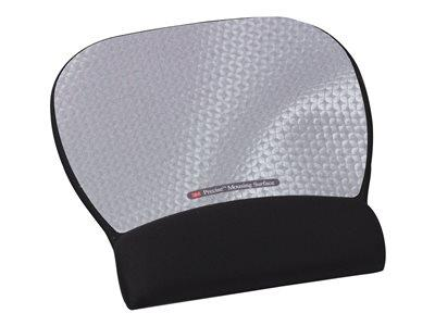 3M Precise Mousing Surface with Fabric Gel Wrist-Rest