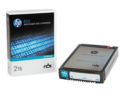 HPE 2TB RDX Removable Disk Cartridge