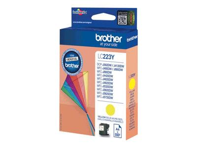 Brother LC223Y Yellow Original Ink Cartridge