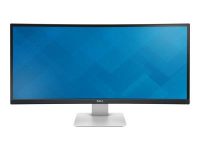 "Dell UltraSharp 34"" 3440x1440 8ms HDMI DP USB 4K Curved Monitor"
