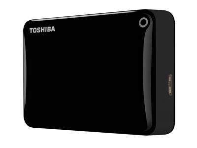 "Toshiba 2TB Canvio Connect II USB 3.0 2.5"" Portable Hard Drive Black"