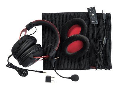 HyperX Cloud II Gaming Headset PC/Mac/PS4/Xbox- Red