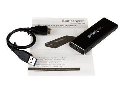 StarTech.com M.2 SATA external SSD enclosure USB 3.0 with UASP