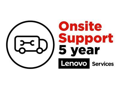 Lenovo ePac OnSite Repair Extended Service Agreement 5 Years