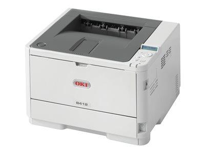 OKI B412dn (A4) Mono Laser Printer (Networked Duplex) 512MB
