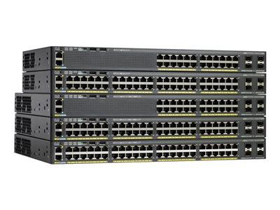 Cisco Catalyst 2960X-48LPD-L Switch Managed  48 x 10/10