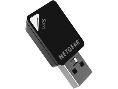 NetGear A6100-100PES AC600 WiFi USB Mini Adapter 802.11 ac/n