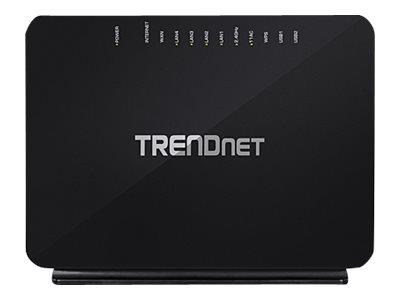 TRENDnet TEW-816DRM AC750 Dual Band Wireless VDSL2/ADSL2+ Router