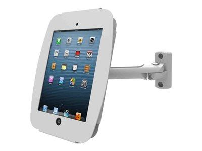 Maclocks iPad Mini Space Enclosure with Swing Arm Wall Mount - White