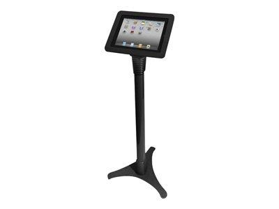 Maclocks iPad Executive Kiosk With Adjustable Floor Stand - Black