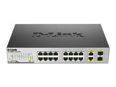 D-Link DES-1018MP 18-Port PoE Fast Ethernet Unmanaged Switch