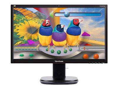 "ViewSonic VG2437SMC 23.6"" VGA DVI DP USB LED Monitor with Integrated Webcam"