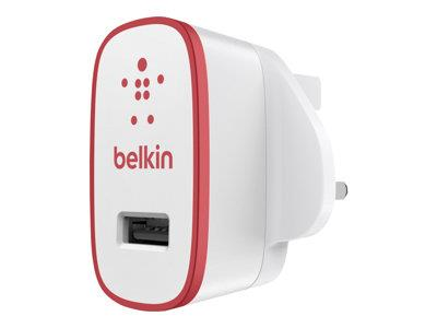 Belkin Mix-It single AC Wall charger 2.1amp - Red