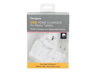 Targus USB Home Charger for Media Tablets