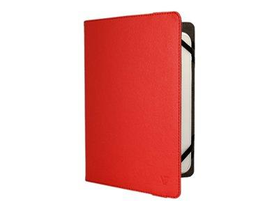 "V7 Uni Folio Case 8"" - Red"