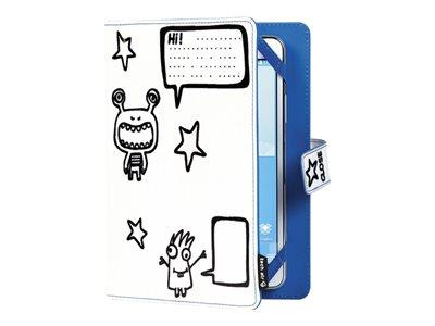 "Techair 10"" Little Monsters Universal Tablet Doodle Case"