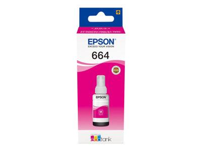 Epson T6643 Magenta Ink Bottle L-Series Ink Tank